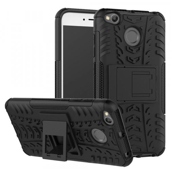 Бронированный силиконовый бампер для Xiaomi Redmi 4x Черный