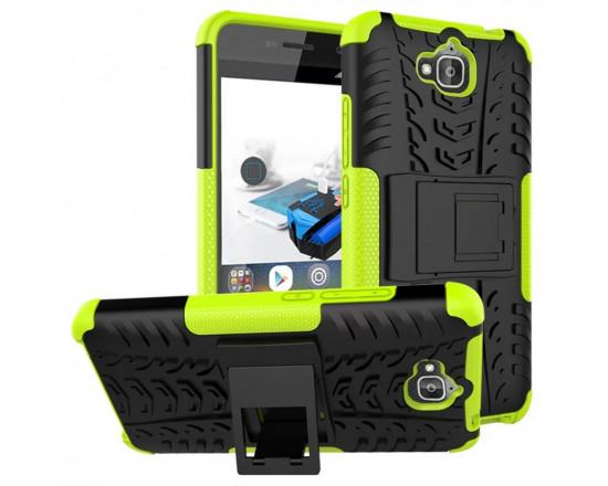 Бронированный силиконовый бампер для Huawei Y6 Pro