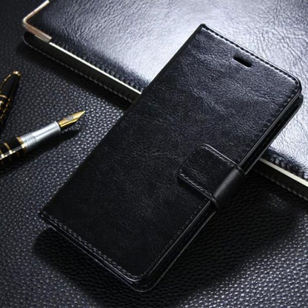 Кожаный чехол-книжка для Xiaomi RedMi 3/s/Pro