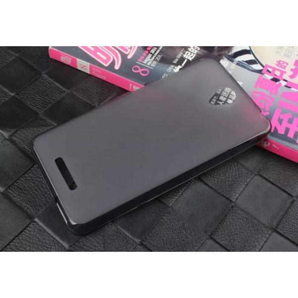 Силиконовый чехол для Xiaomi Redmi Note 2(чёрный)