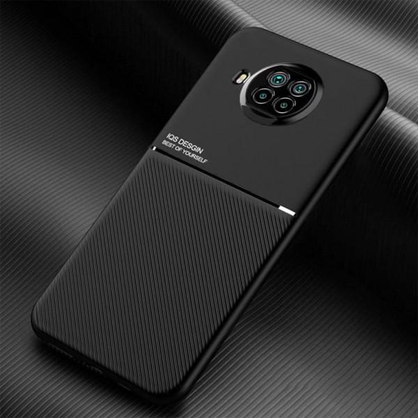 Силиконовый чехол IQS Design для Xiaomi Mi 10T Lite Черный