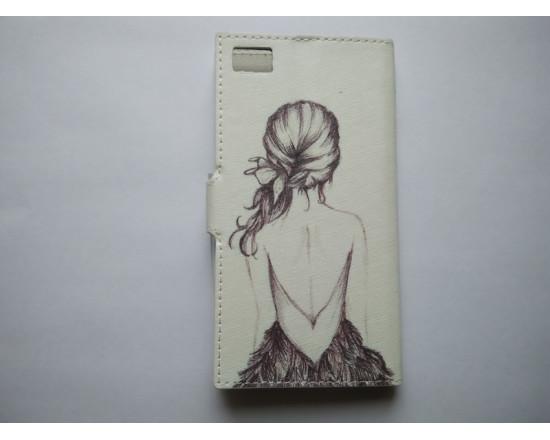 Чехол-книжка с рисунком для Xiaomi Mi3