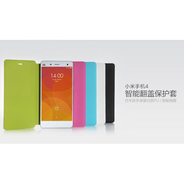 Оригинальный чехол обложка для Xiaomi Mi4 чёрный