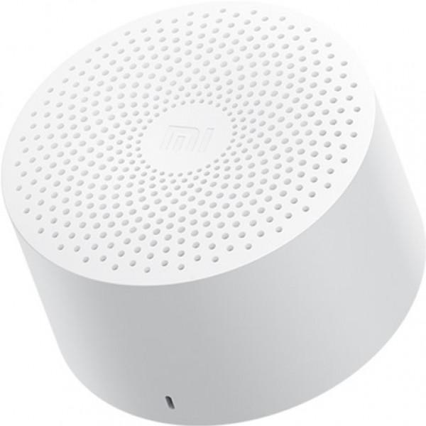 Колонка портативная Xiaomi Mi Compact Bluetooth Speaker 2 - Белая (MDZ-28-DE)