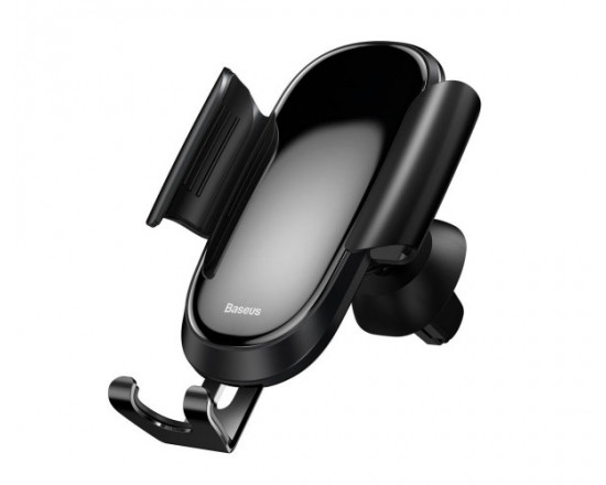 Автомобильный держатель Baseus Future Gravity Car Mount Black (SUYL-WL01)