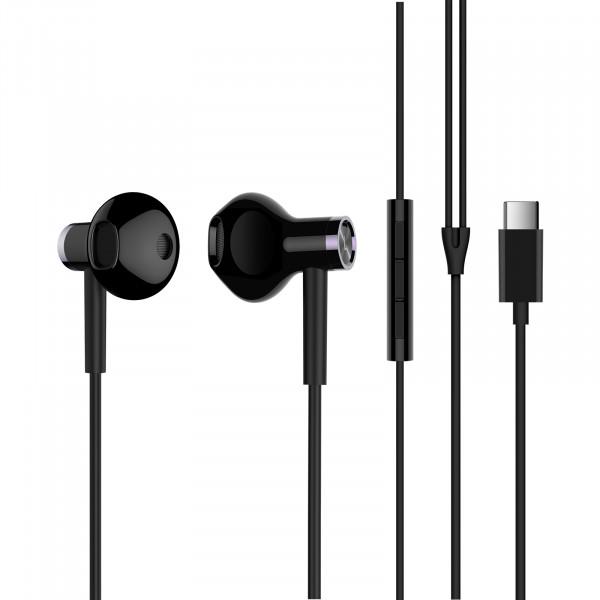 Наушники Xiaomi Mi Dual-Unit Half-Ear Headphones Type C Version