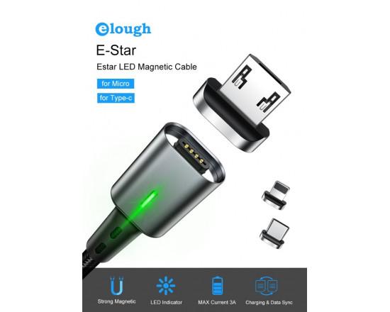 Магнитная Micro USB зарядка Elough