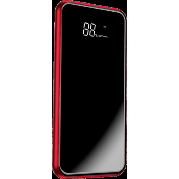 Внешний аккумулятор Baseus Power Bank 8000mAh Full screen bracket Series Wireless Charging Red (PPALL-EX01)