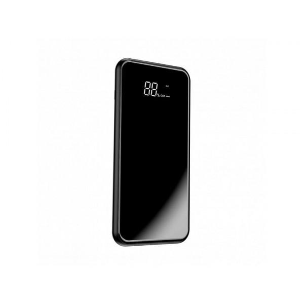 Внешний аккумулятор Baseus Power Bank 8000mAh Full screen bracket Series Wireless Charging Black (PPALL-EX01)