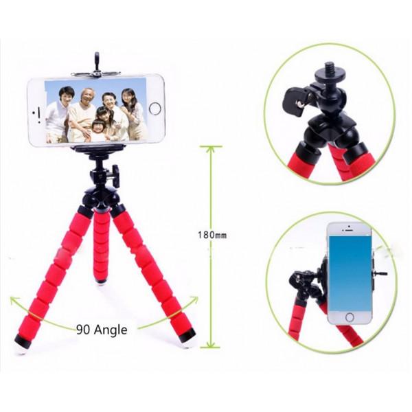 Универсальный портативный штатив для экшн-камер и смартфонов