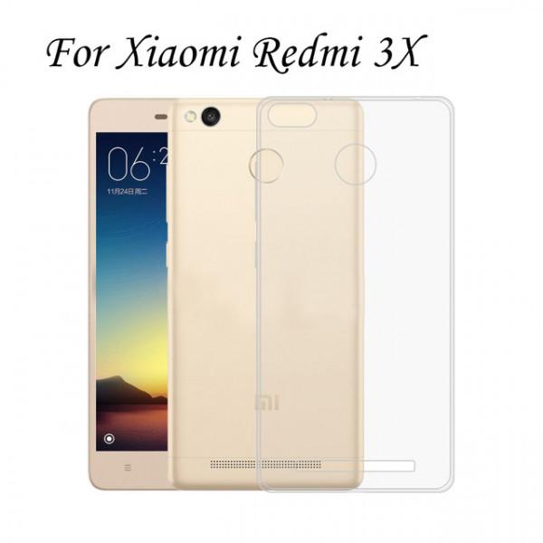Силиконовый чехол для Xiaomi Redmi 3x