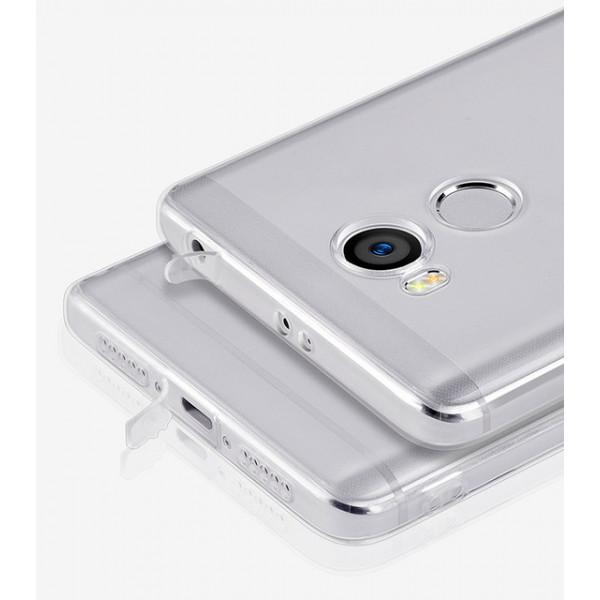 Силиконовый чехол для Xiaomi Redmi 4