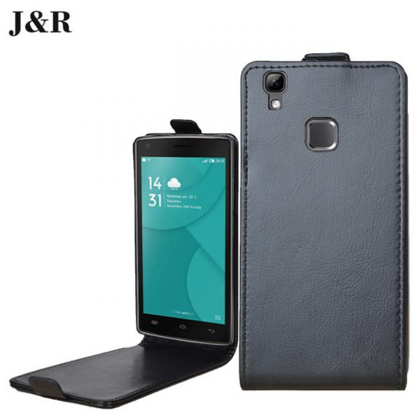J&R кожаный флип чехол для Doogee X5 Max/Pro