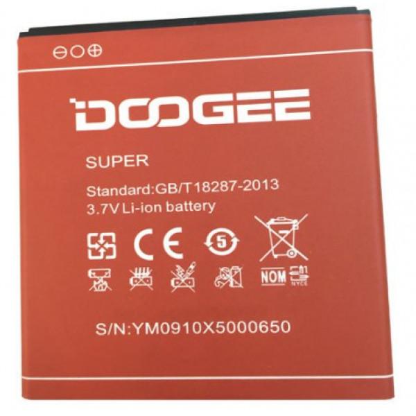 Усиленный аккумулятор 3100 mAh для Doogee X5/Pro
