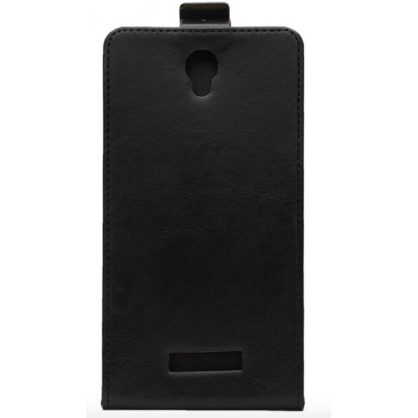 Кожаный флип чехол для Doogee X6/X6 Pro