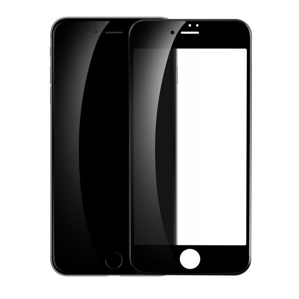 Защитное стекло Baseus 0.23mm PET Soft 3D для iPhone 7 (чёрное)
