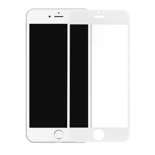Защитное стекло Baseus 0.23mm PET Soft 3D для iPhone 7 (белое)