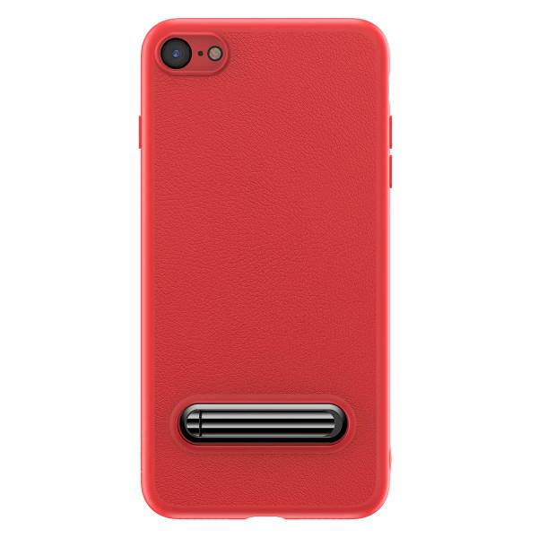 Чехол с подставкой Baseus Happy Watching Supporting для iPhone 7 (красный)