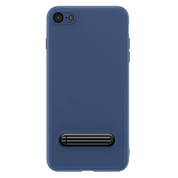Чехол с подставкой Baseus Happy Watching Supporting для iPhone 7 (синий)