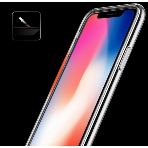 Чехол Usams Case-Senior Series iPhone X Gray/Blue/Red/Gold