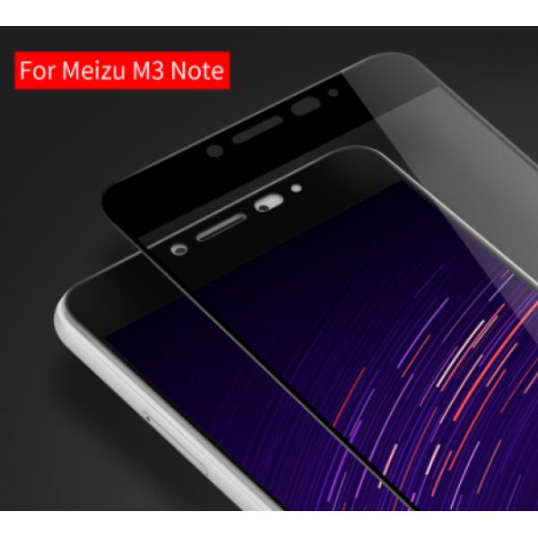 Защитное стекло с полным покрытием для телефона Meizu M3 Note