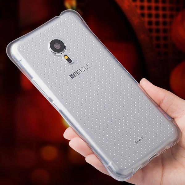Силиконовый бампер для Meizu M3 Note