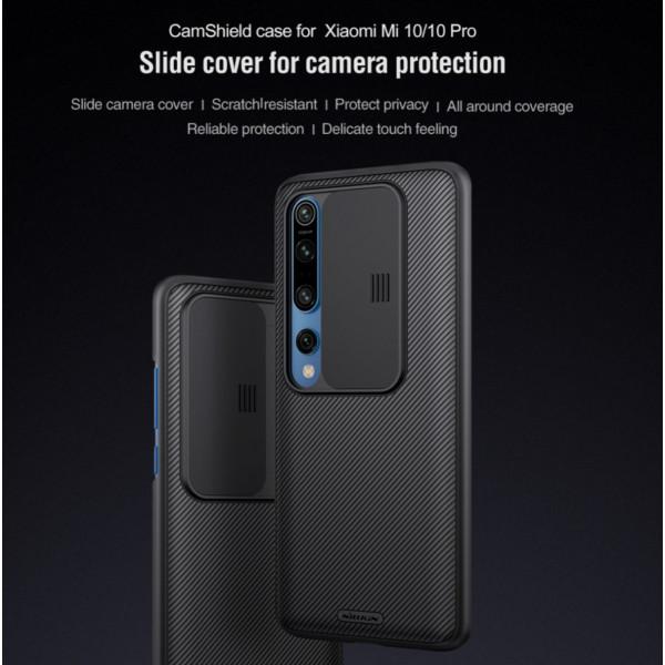 Чехол Nillkin CamShield для Xiaomi Mi 10/Pro