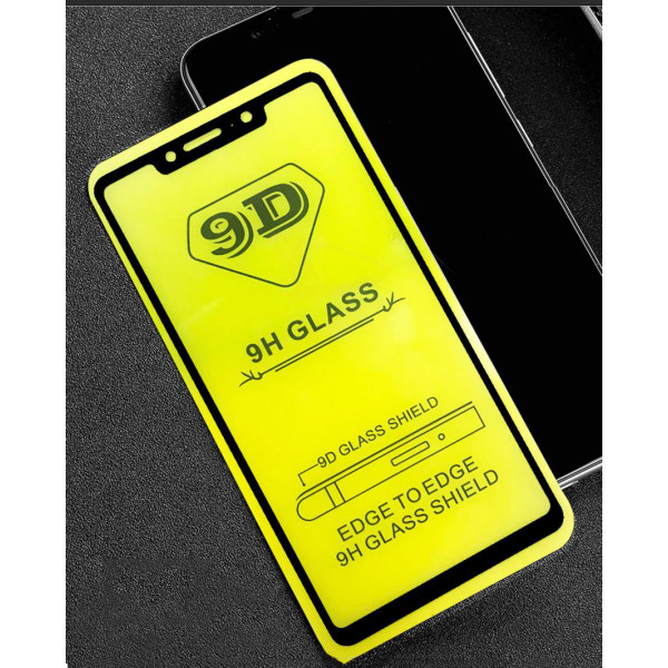 Защитное стекло с полным покрытием 9D для телефона Xiaomi Mi 8