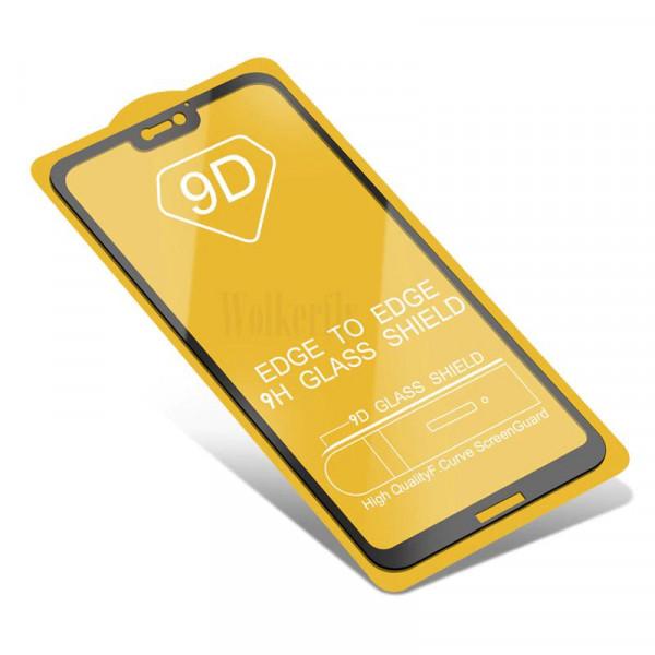 Защитное стекло с полным покрытием 9D для телефона Xiaomi Mi 8 Lite