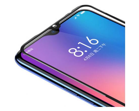Защитное стекло с полным покрытием Baseus All Screen Arc Surface Anti Blue 0.3mm Black для Xiaomi Mi9/Mi9 Explore