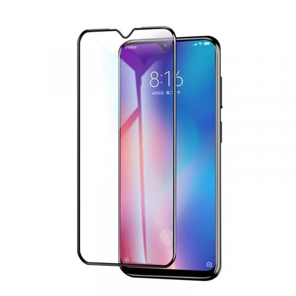 Защитное стекло с полным покрытием 9D для телефона Xiaomi Mi 9