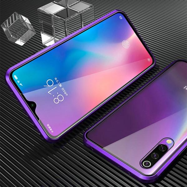 Двухсторонний магнитный чехол для Samsung A30s/A50/A50s Фиолетовый