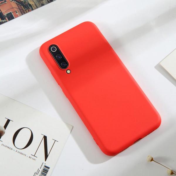 Силиконовый чехол Soft Touch для Samsung A30s/A50/A50s Красный