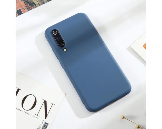 Силиконовый чехол Soft Touch для Xiaomi Mi A3 Синий
