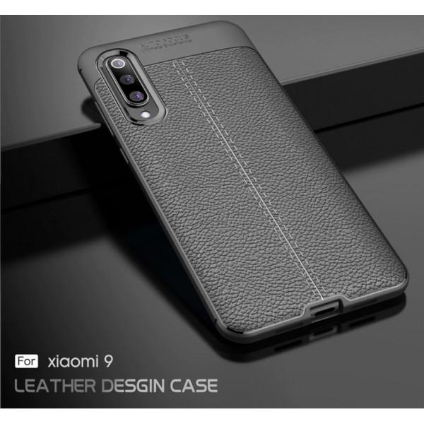 Силиконовый чехол под кожу для Xiaomi Mi 9