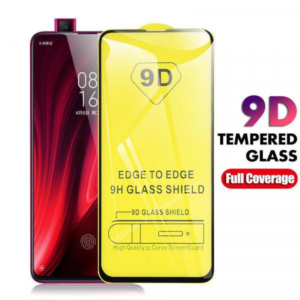 Защитное стекло с полным покрытием 9D для телефона Xiaomi Mi 9T/Pro