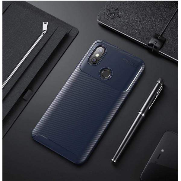Силиконовый чехол Autofocus для Xiaomi Mi A2 Синий