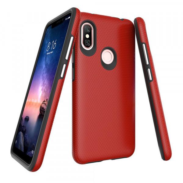 Гибридный чехол для Xiaomi Redmi S2 Красный