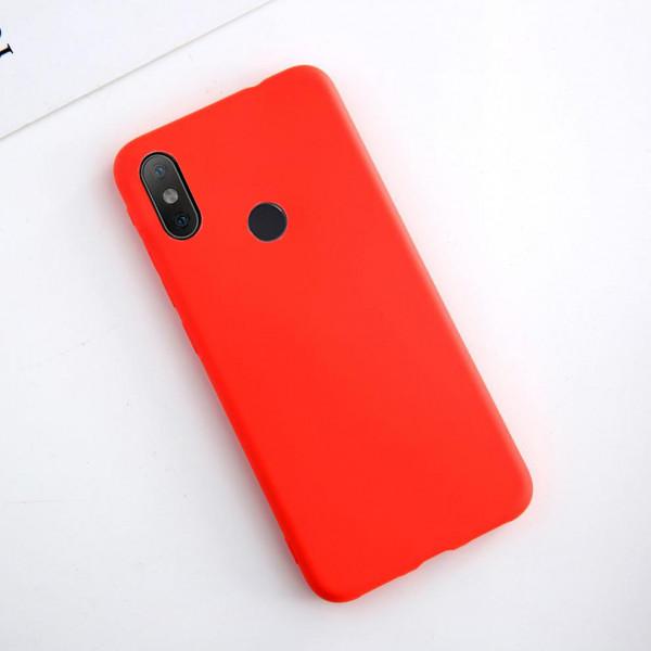 Силиконовый чехол Soft Touch для Xiaomi Mi A2 Lite