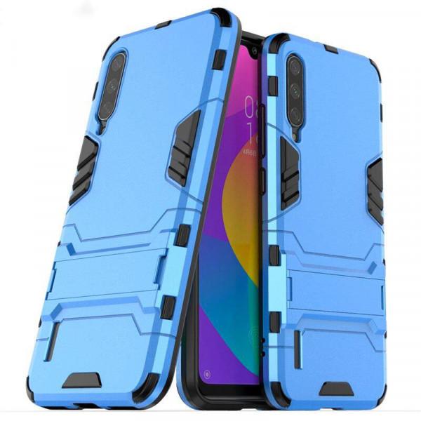 IronMan ультратонкий защитный бампер для Xiaomi Mi 9 Lite Голубой
