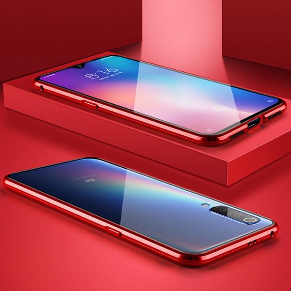 Защитный магнитный чехол для Xiaomi Mi A3 Красный