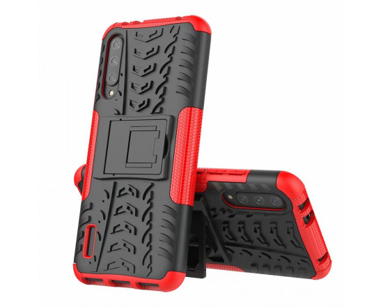 Бронированный силиконовый бампер для Xiaomi Mi 9 Lite Красный