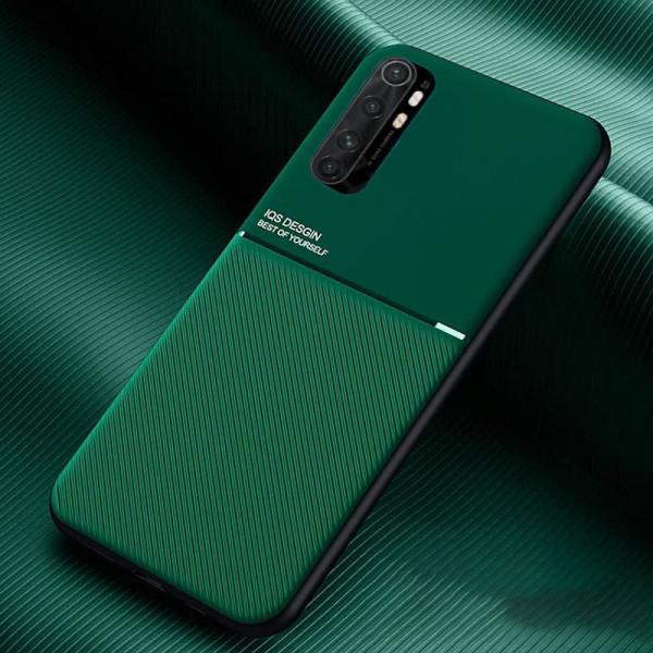 Силиконовый чехол IQS Design для Xiaomi Mi Note 10 Lite Зелёный
