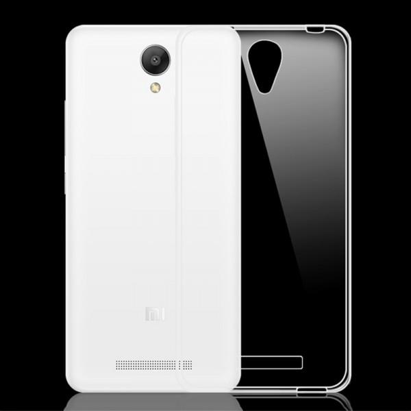 Прозрачный силиконовый чехол для Xiaomi Redmi Note 2