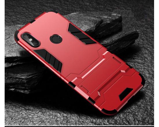 IronMan ультратонкий защитный бампер для Xiaomi Redmi Note 5 Красный