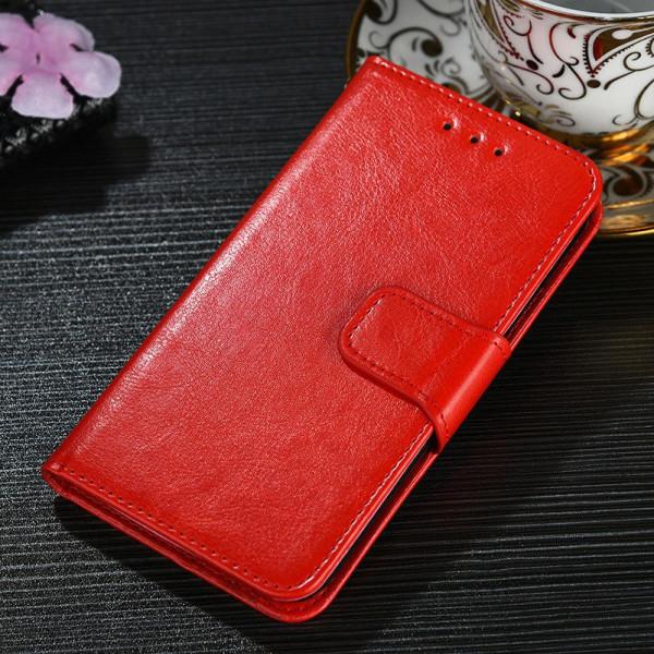 Чехол-книжка для Xiaomi Redmi 9 - Красный