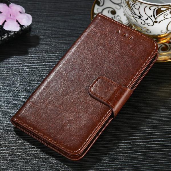 Кожаный чехол-книжка для Xiaomi Redmi Note 7
