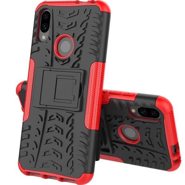 Бронированный бампер для Xiaomi Redmi Note 7 Красный