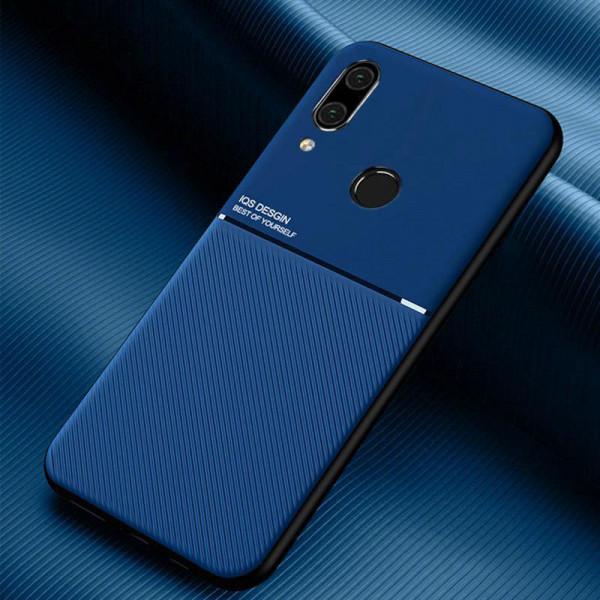 Силиконовый чехол IQS Design для Xiaomi Redmi Note 7 Синий