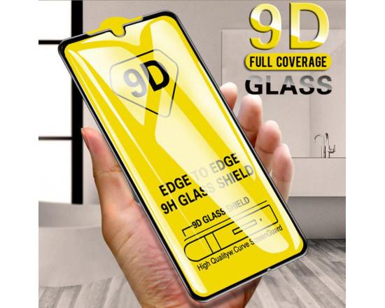 Защитное стекло Full Glue 9D с полным покрытием для Xiaomi Redmi Note 8